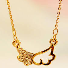 gold short chain necklace images 18k gold plated bohemia design female short chain necklace good jpg