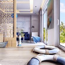 Nautical Room Divider An Open Floorplan Is Made More Comfortable By Creative Room