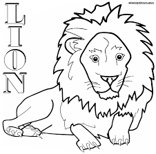 lion coloring pages coloring pages to download and print