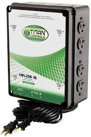 helios 12 240 volt 8 light relay with dual timer cord