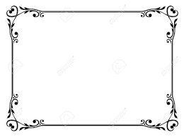 ornamintal frame vector clipart clipart collection vector