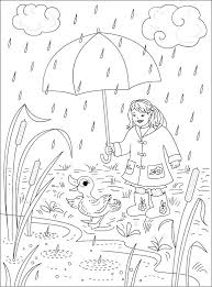 Rainy Day Pictures For Colouring Day Pictures For Colouring Rainy Day Coloring Pages