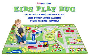 Kid Play Rug Play Car Rug Community Carpet Mat Large 78 X