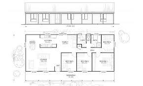 kit home plans flinders 4 met kit homes 4 bedroom steel frame kit home floor