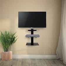 mensole sotto tv jago supporto mensola porta lettore dvd da parete con 3 ripiani in