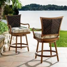 Outdoor Bar Height Swivel Chairs Set Of 4 Outdoor Patio Furniture Cast Aluminum Swivel Bar Stools