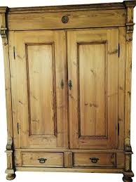 german antique pine armoire chairish