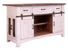 international furniture direct pueblo white kitchen island