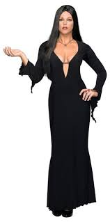 Ebay Halloween Costumes Size Size Morticia Costume Addams Family Vampire Halloween