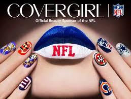 covergirl teams up with nfl on u0027fanicure u0027 nail polish sets