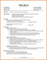 Cosmetology Resume Objective Teacher Assistant Resume Objective Resume For Your Job Application
