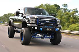 ford trucks 250 knockout a black n blue 2002 ford f 250 7 3l