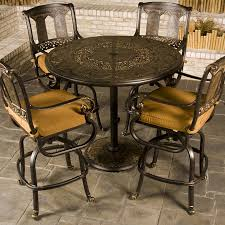 Bar Height Patio Table And Chairs Patio Bar Height Table