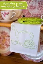 Kitchen Towel Embroidery Designs 88 Best Tea Towel Love Images On Pinterest Tea Towels Kitchen