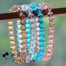 crystal charm bracelet beads images 8mm crystal beads bracelets bangles stretchy bijoux pulseras jpg
