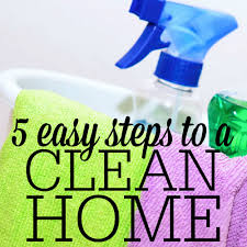 how to clean your home in 5 easy steps