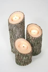 Fireplace Candle Holders by Rustic Wood Candle Holder Home Design Ideas