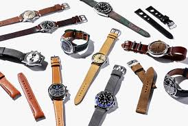 bracelet strap watches images The 12 best leather watch straps you can buy in 2018 gear patrol jpg