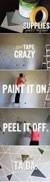 80 best diy decorating images on pinterest diy crafts and be sure to peel the tape off when the paint is still wet do it