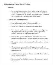 truck driver job description responsibilities truck driver tayoa