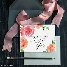 water color cards watercolor peony thank you card lia griffith