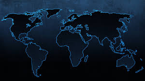 Black World Map by New World Map Wallpaper U2022 Dodskypict