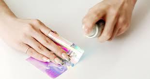 milk makeup spray nails nail polish