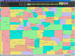Colorado Area Codes Map by County Hunters And County Hunting Radio Ham Maps For County