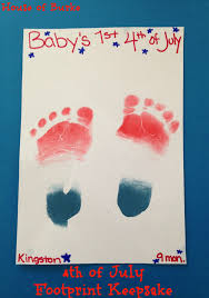 house of burke 4th of july crafts for baby