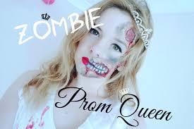 halloween prom scary zombie prom queen halloween tutorial beautyandshe youtube
