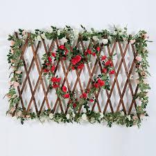 wedding arch greenery yiliyajia 2pcs artificial flower garland