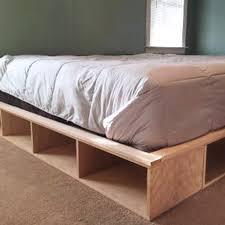 Easy Platform Bed With Storage Diy Platform Bed With Storage Readers Holiday Gifts Diy Platform