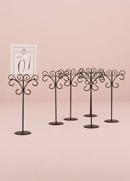 table top place card holders ornamental wire table card holder pack of 6 style 9189 table top