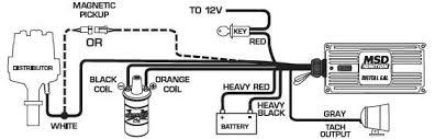 msd 9150 ignition kit digital 6al 2 distributor wires blaster ss