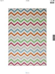 Red Turquoise Rug Chevron Multi Colored Rug White Turquoise Grey Orange Green Red