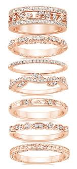 rings bands images Top 20 swoonsome wedding bands to fit with your engagement rings jpg