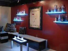 Wall Bar Cabinet Marvellous Design Wall Mounted Bar Shelves Magnificent Ideas
