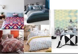 charline chambre match linge de lit imprimé linge de lit uni lequel préférez vous