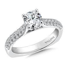 rings pave images Shira diamonds pave engagement ring round pave engagement ring jpg