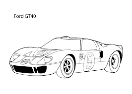 printable 51 cool car coloring pages 7903 super car ford