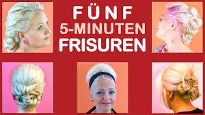 Hochsteckfrisurenen In 5 Minuten by Fünf 5 Minuten Frisuren Einfache Frisuren Für Alltag Freizeit