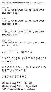 color blindness test book free download aph u2014 aphont a font for low vision