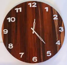 buy round wooden wall clock u2022 barish