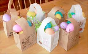 easter bags and easy paper easter bags one thing by jillee