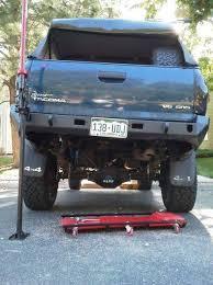 dodge ram custom rear bumper your rear plate bumpers tacoma