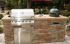 Outdoor Stainless Steel Kitchen - wall mounted range hood outdoor kitchen cabinets stainless steel