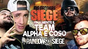 finalmente il team alpha e coso rainbow six siege youtube
