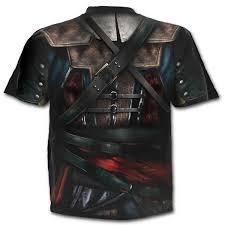 Kenya Flag Clothing Assassins Creed Assassins Creed Iv Black Flag Allover Licensed T