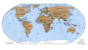 map eath global map of earth major tourist attractions maps