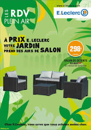 Salon Allibert by Awesome Salon De Jardin Chez Leclerc Gallery Shopmakers Us